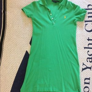 $15 Ralph Lauren 👕Polo Dress👗in Green